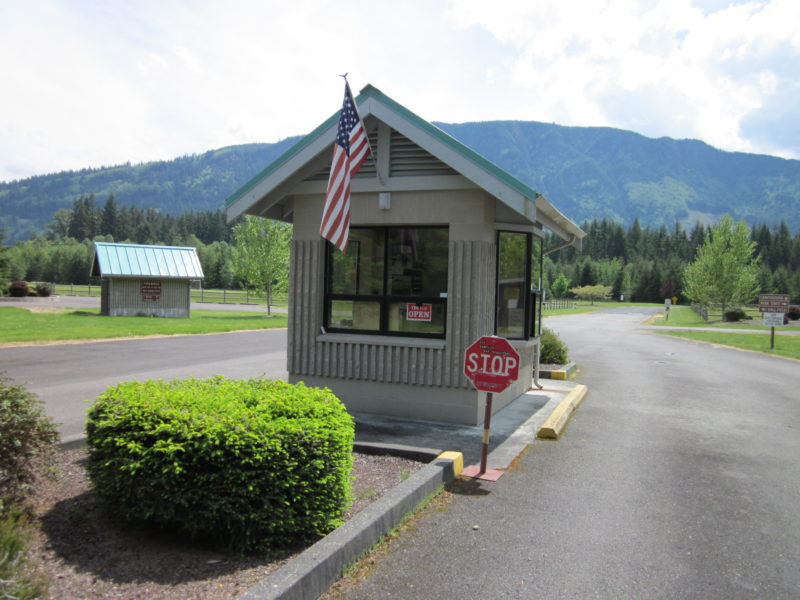 Campground Entrance Booth