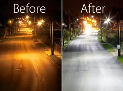 LED street light comparison
