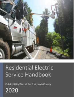 Link to Residential Electric Service Handbook